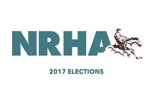 2017 NRHA Elections Overview Information Video