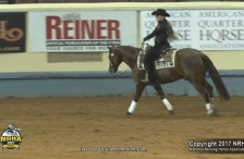 Hannah Mitchell and The Boominator Win 2017 Collegiate Reining Championship