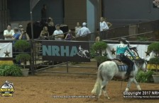 Stephanie Gripp and Gun N For Glory sweep the NRHA Derby 2017 NON-Pro Levels 3, 2, 1 and Youth Championships