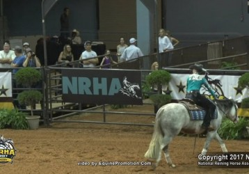 Stephanie Gripp and Gun N For Glory sweep the NRHA Derby 2017 Levels 3, 2, 1 and Youth Championships