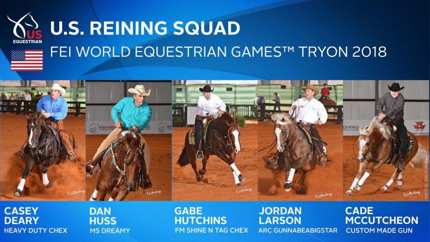 Fei World Equestrian Games Reining Tryon 2018 Slidin Guide