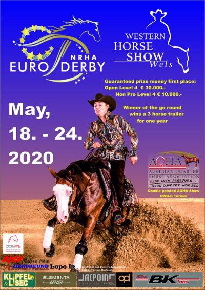 NRHA European Derby Reining Horse Show